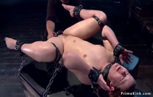 Hottie is whipped and finger fucked