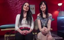 Sexy Lesbians Experiencing Hardcore Bdsm Sex